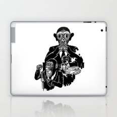 Three Wise Monkeys Laptop & iPad Skin