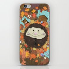 Luv Song (Hedgehog) iPhone & iPod Skin