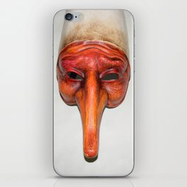 Mask quirky iPhone Skin