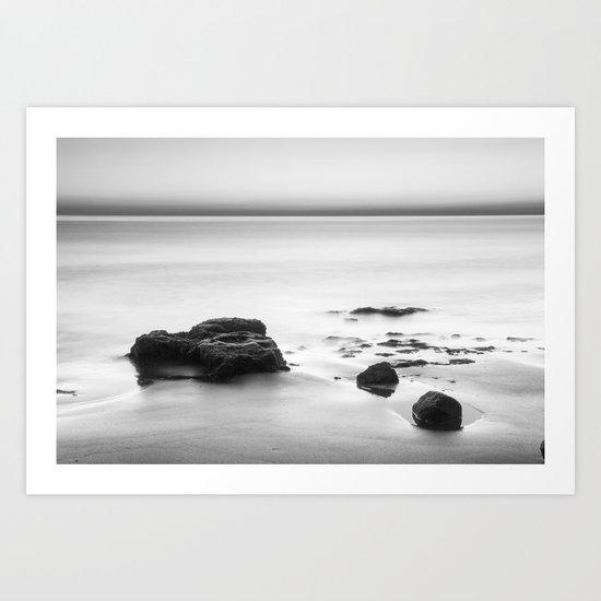 Looking at the sea... Art Print