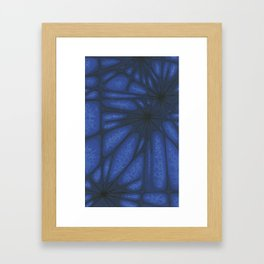 Stained Glass Web Framed Art Print