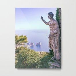 The Emperor's Vista Capri  Metal Print