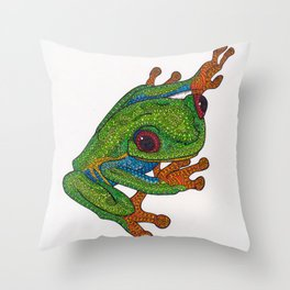 Stick Throw Pillow