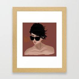 Say Wut? Framed Art Print
