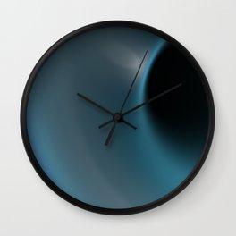 Blue hole Wall Clock