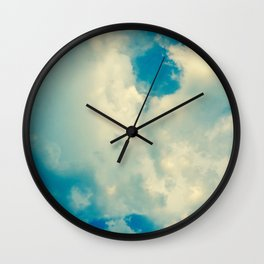 Just Be Happy Photography Wall Clock