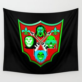 Tribute to Metal Icons Wall Tapestry