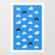 Forecast Feelings Art Print