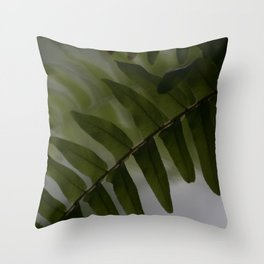 Upside down leaves Throw Pillow