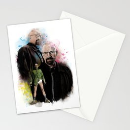 The one who knocks inspired by Breaking Bad Stationery Cards