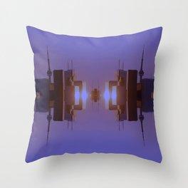 Skyline Symmetry in Toronto, Ontario  Throw Pillow