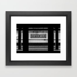 Fifth Ave Subway Framed Art Print