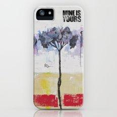 Hydrangeas iPhone (5, 5s) Slim Case