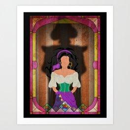Shadow Collection, Series 1 - Fool Art Print