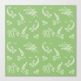 Lady Fern - Green Canvas Print