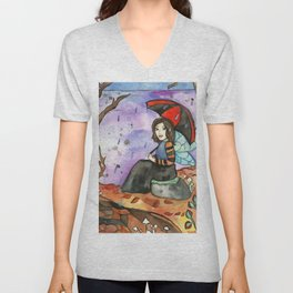 September Fairy Unisex V-Neck