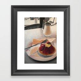 The Tart Framed Art Print