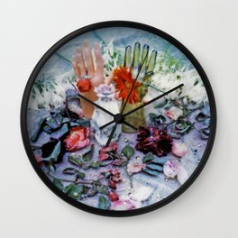 Hands to Guide the Way Wall Clock