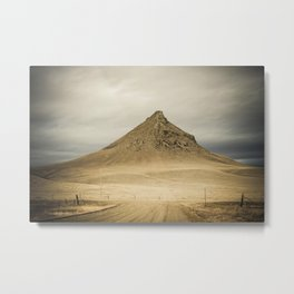 Haystack Butte, Sweet Grass Hills, Liberty County, MT Metal Print