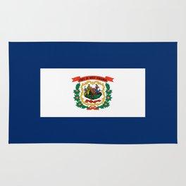 West Virginia State Flag Rug