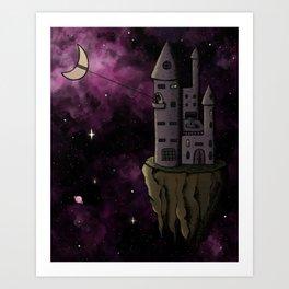 Lasso the Moon Art Print