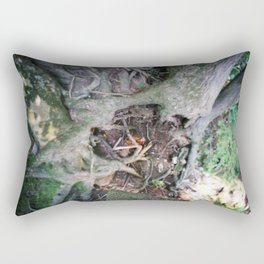Living on the Edge Rectangular Pillow
