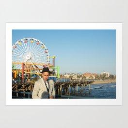 Pacific Santa Monica Art Print