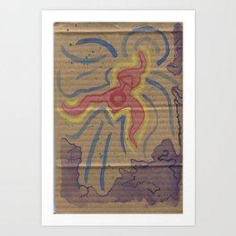 ACID Painting Art Print