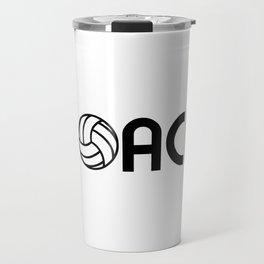 Volleyball Coach Travel Mug