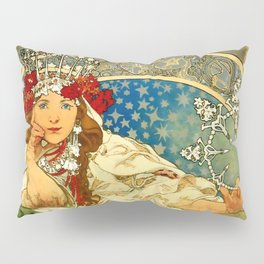 "Alphonse Mucha  ""Princess Hyacinth"" Pillow Sham"