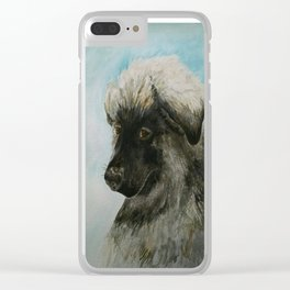 A Tribute to Luca (a Shiloh Shepherd) Clear iPhone Case