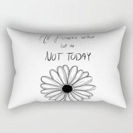Not Today   BTS Rectangular Pillow