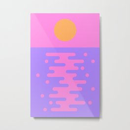 Paradise Sunset Metal Print