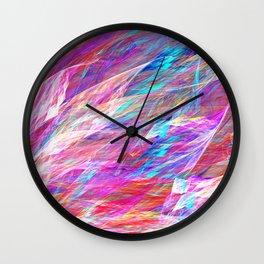 Jewels Unfurling Wall Clock