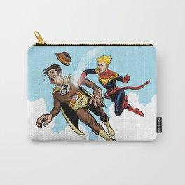 Superhero defeats the Groper Carry-All Pouch