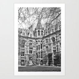 Visions of Cambridge University Art Print
