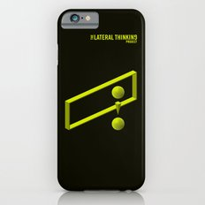The LATERAL THINKING Project - Contexto Slim Case iPhone 6s