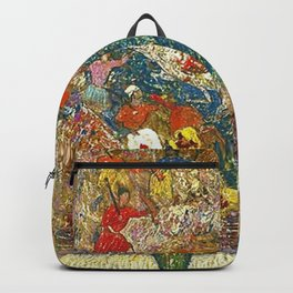 Henry Golden Dearth - Bronze Buddha Backpack
