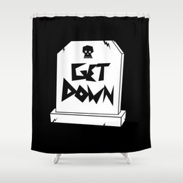Get Down Shower Curtain