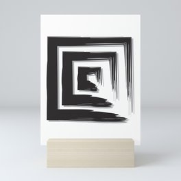 Black Mini Art Print