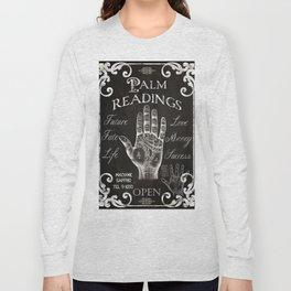 Vintage Palmistry Sign Long Sleeve T-shirt