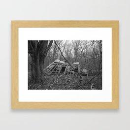 Tragic Past Framed Art Print