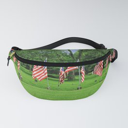 Flags Flying in Memoriam Fanny Pack