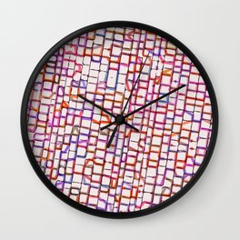 Snakes and Ladders and Bricks Wall Clock