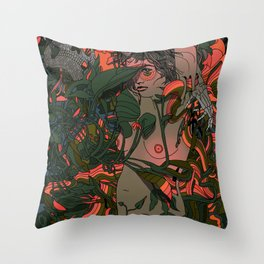 When All Things Ripen Throw Pillow