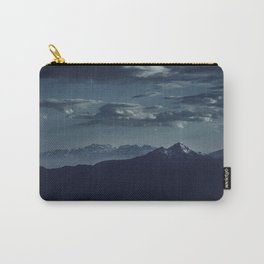 Lonely peak of the mountains Carry-All Pouch