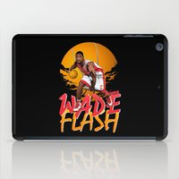 nba iPad Cases featuring NBA Legends: Dwyane Wade by Akyanyme