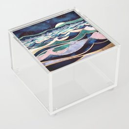 Moonlit Ocean Acrylic Box