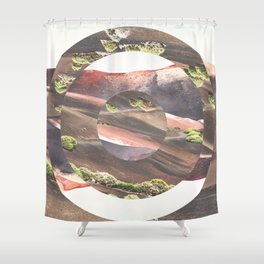 Circle Madness Shower Curtain