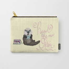Martin the Otter: Read Like No Otter-by Hxlxynxchxle Carry-All Pouch